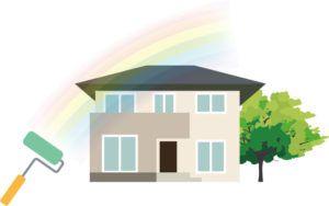 外壁塗装で使われる色にはどんなタイプがある?